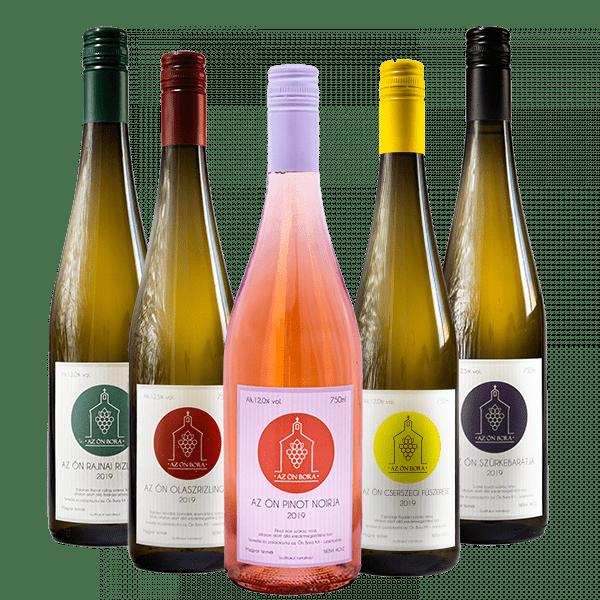 6 palack bor tetszés szerint