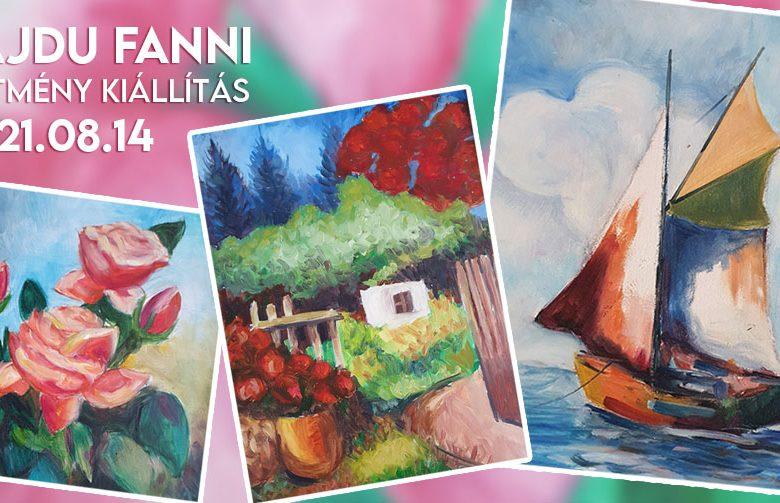 Hajdú Fanni festménykiállítás